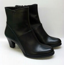"Clarks Ladies Black Leather Ankle Boots ""LEASE PARTY"""