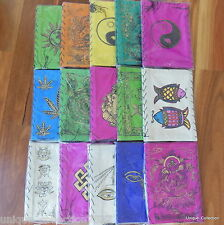 Nepalese Handmade Lokta Paper Lampshades Lantern with Assorted Colour & Designs