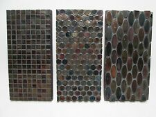 "6""x12"" Glass Tile Mosaic Wall Art"
