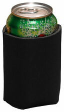 Liberty Bags Jersey Knit Insulated Beverage Foam Backing Can Holder. FT001