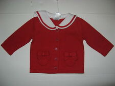 Gymboree Sailor Baby Girls size 0 3 6 9 12 18 24 m Red Sweater NWT CUTE