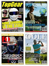 Personalised Spoof Magazine & Newspaper Covers - Birthday For Him For Her