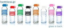 BottlesUp Reusable Recycled Glass Water Bottle - 16 oz. - BPA & Plastic Free