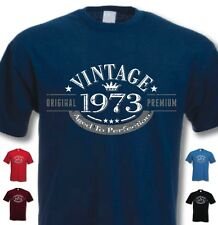 43rd Birthday Vintage Year T-Shirt - Funny Novelty Gift Ideas for Men Him - New