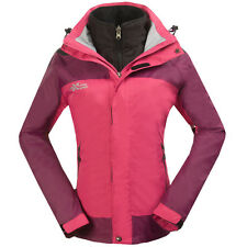 New Womens Winter 3in1 Ski Jackets Ladies Snow Golf Waterproof Outdoor Clothes