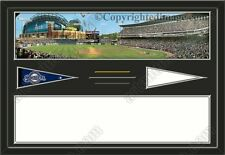House Divided-House Together MLB Two Stadiums Framed Collage-Choose Team/Teams
