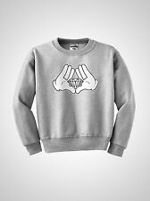 Mickey hands minnie illuminati diamond JayZ TGOD ovoxo ymcmb crewneck sweatshirt