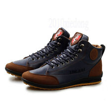 Men's Fashionable Casual Sneaker Lace-up Shoes Flat Shoes For Spring&Fall&Winter