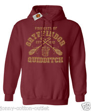 Gryffindor Quidditch Hoodie For Men & Ladies Unisex  Harry Potter Inspired Sale