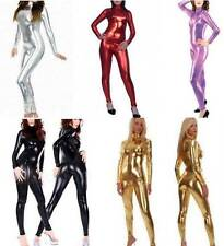 NEW METALLIC Body Suit Lycra Second Skin Spandex Catsuit Bodysuit Zentai Costume