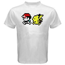 Ash and Pikachu shirt S-XL t-shirt t ynr pokemon pika minecraft