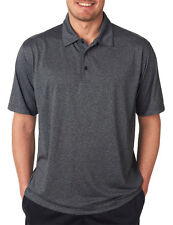 UltraClub Men's Moisture Wicking Pill Resistant Relaxed Fit Polo Shirt. 8302