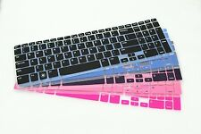 Color Keyboard Skin Cover For Dell Inspiron 15R 5537 with numeric keypad