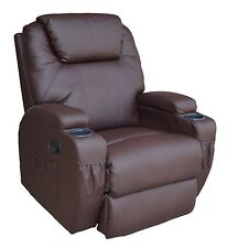 Luxury bonded leather recliner chair, very comfortable, swivel, model 2013 NEW