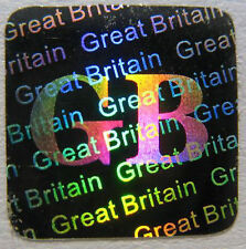 Security Labels Tamper Proof Sticker Hologram Stickers GB Great Britain