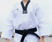 Korean TaeKwonDo uniform TKD DAN DOBOK Black collar uniforms TAE KWON DO