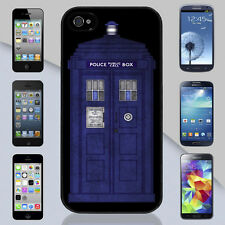 New Doctor Who TARDIS Police Public Call Box Apple iPhone & Samsung Galaxy Case