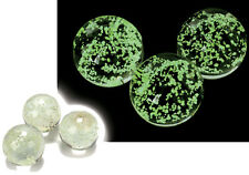 Luminous Marbles - Glow in the Dark Silicone bracelet and Necklace set