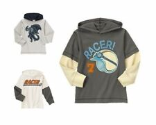 NWT Gymboree U-PICK Race Car Ace Racer Helmet Dragon Hooded Tee Shirt Top NEW