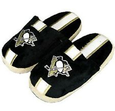 Pittsburgh Penguins NHL Slippers Adult Sizes NEW