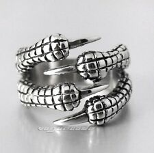 Cool Dragon Claw 316L Stainless Steel Mens Ring X025