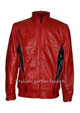 RYAN GOSLING THE PLACE BEYOND THE PINES RED LEATHER JACKET