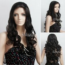 New Stytle Ladies Lace Front Long Curly Wig Kim Kardashian Wig Black/Blondes