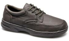 Dr Keller BRIAN Mens Leather Lace Up Wide Fit Comfort Padded Office Shoes Brown