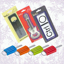 Icy Pop, Ruler, Guitar and CTRL-O Bottle Openers by Wink (Wild Eye Designs)