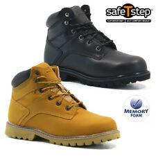 LADIES SAFETY BOOTS STEEL TOE CAP ANKLE TRAINERS HIKING SHOES WOMENS WORK SIZE