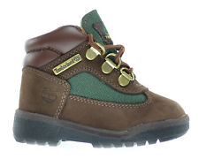 Timberland Baby Toddlers Field Boots Brown/Olive Green 16837