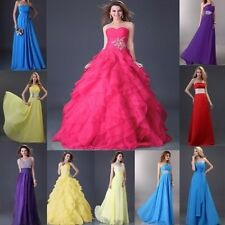 Multi-Styles Womens Wedding Party Bridesmaid Evening Formal Prom Ball Long Dress