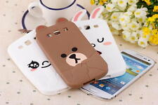 Cute Rabbite Bear soft Silicone skin Cover for Samsung Galaxy S3/S4/Note2 case