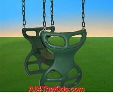 SWINGSET / PLAYGROUND / PARK / PLAYSET CHILD DOUBLE GLIDER WITH CHAINS