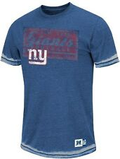 New York Giants Majestic NFL Posted Victory Washed Burnout Premium T-Shirt