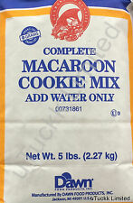 RH Complete Macaroon Cookie Mix Just Add Water No Trans Fat Restaurant Quality
