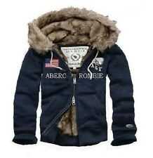 BRand New Abercrombie and Fitch United States Flag Navy Hoodies S/M/L/XL