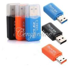 New USB 2.0 High Speed Micro SD T-Flash TF Card Reader Micro Memory Stick Card
