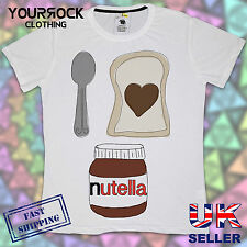 I LOVE NUTELLA , MENS T SHIRT, DESIGNER, SUMMER SHORT SLEEVE T SHIRT*
