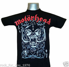 Motorhead Playing Cards Mens T Shirt Official Merchandise