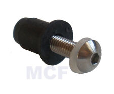 M6 Socket Button Head Stainless Screws Motorcycle Screen Fairing Bolts
