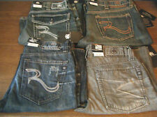 Men's ROCK & REPUBLIC New Distressed Stonewash Jeans You Choose Stlye Size Name