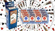 BICYCLE STANDARD RIDER BACK PLAYING CARDS RED OR BLUE DECKS 1 TO 12 SEALED PACKS
