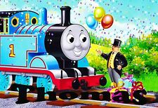 THOMAS TANK Personalised  Place Mat / Door Sign / Poster