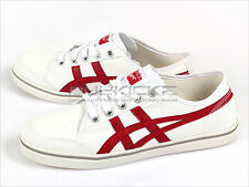 Asics Onitsuka Tiger OT Earlen Canvas Casual Sports Shoes White/Red TH3Z2N-0123