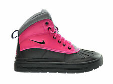 Nike Woodside 2 High (GS) Big Kids Boots Pink Foil/Black-Cool Grey 524876-600