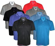 Men's T-Shirts Loose Fit PK Polo Plain With Pocket PolyCotton Size (S-XXL)