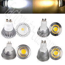 Ultra Bright 3W 5W 7W COB led MR16 GU10 LED Down Spot Light Warm Cool White Lamp