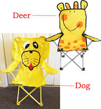 New Cute Colorful Beach Camping Indoor & Outdoor Folding Chair for Children Kids