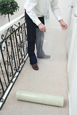 Carpet & Stair Floor Protection Protector Film - pick your size & thickness